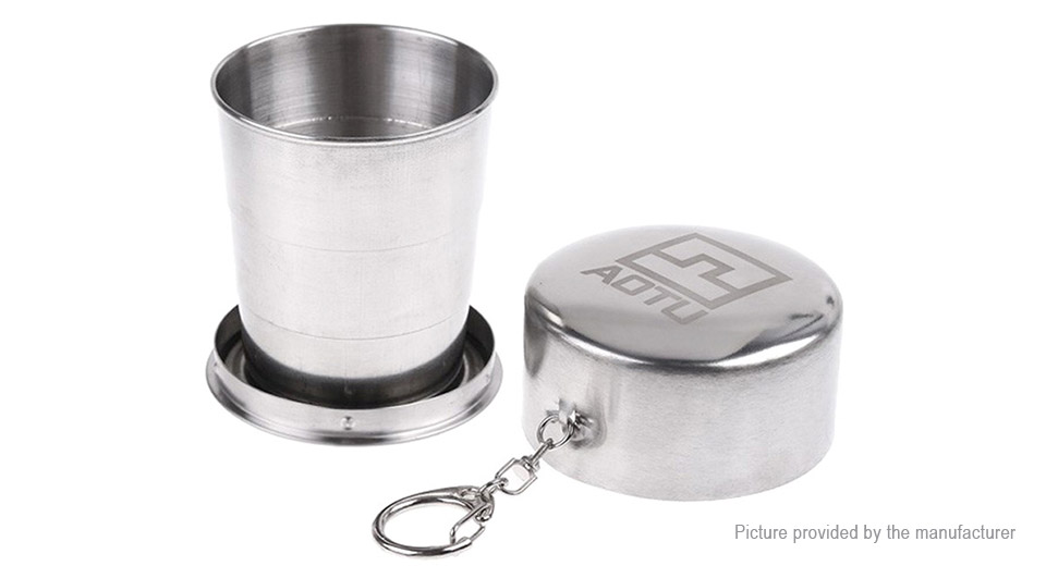 Authentic AOTU AT6641 Collapsible Camping Hiking Mug Cup