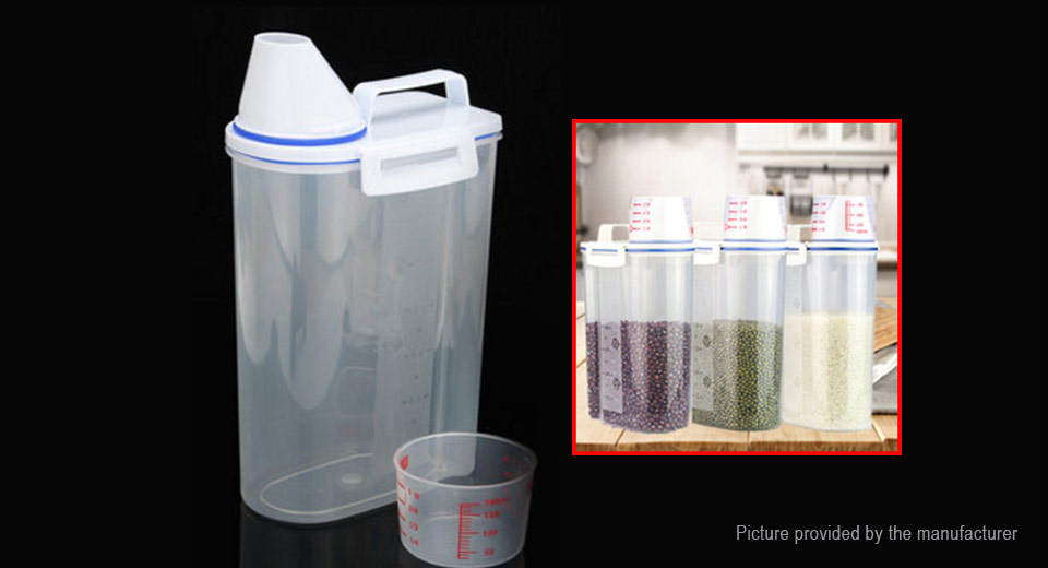 Kitchen Food Cereal Grain Bean Rice Storage Container