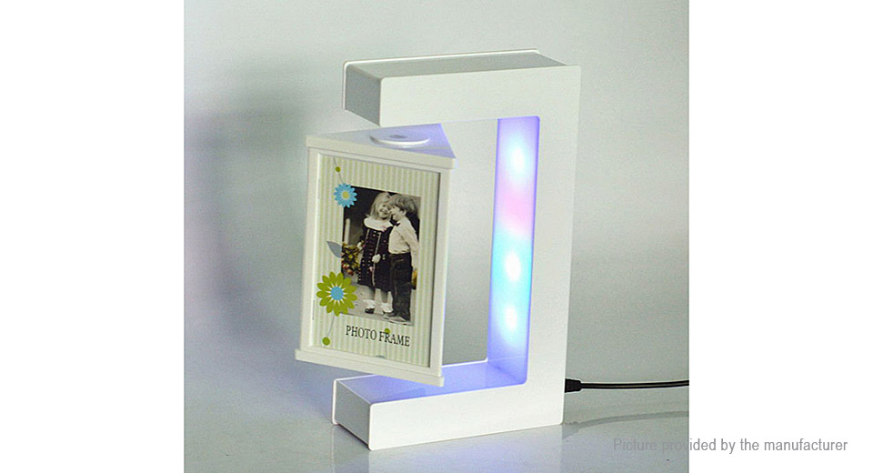 Luminous Magnetic Levitation Floating Photo Frame