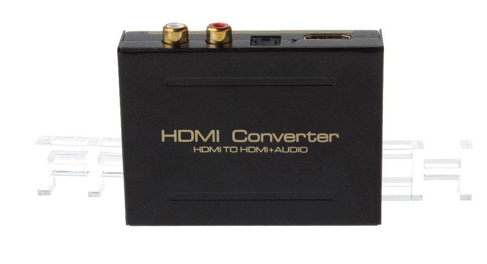 HDMI to HDMI + Audio Converter Adapter (EU)
