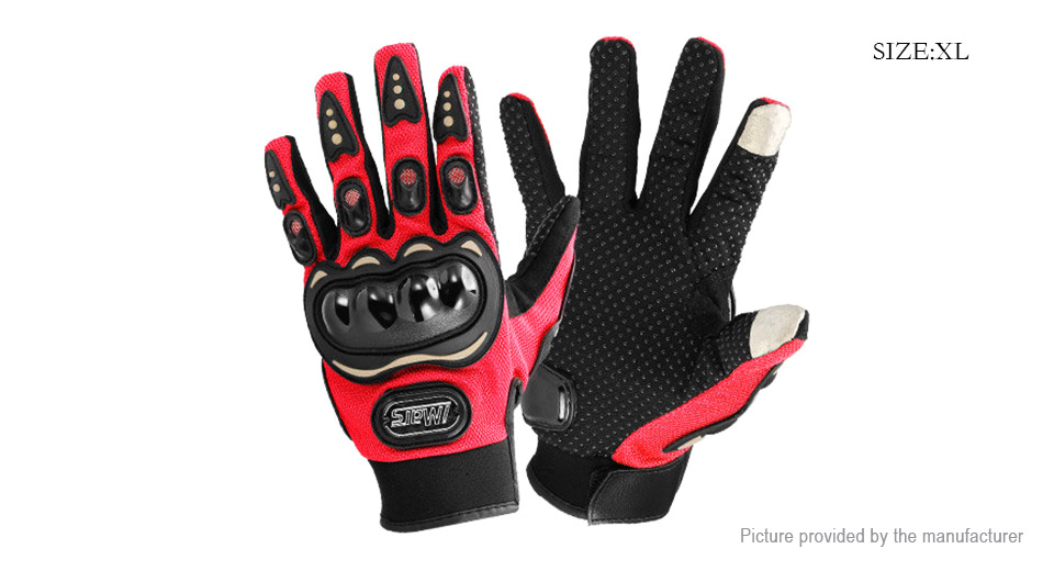 iMars iM-G1 Motorcycle Riding Sports Full Finger Touch Screen Gloves (Size XL)