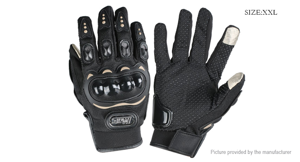 iMars iM-G1 Motorcycle Riding Sports Full Finger Touch Screen Gloves (Size 2XL)