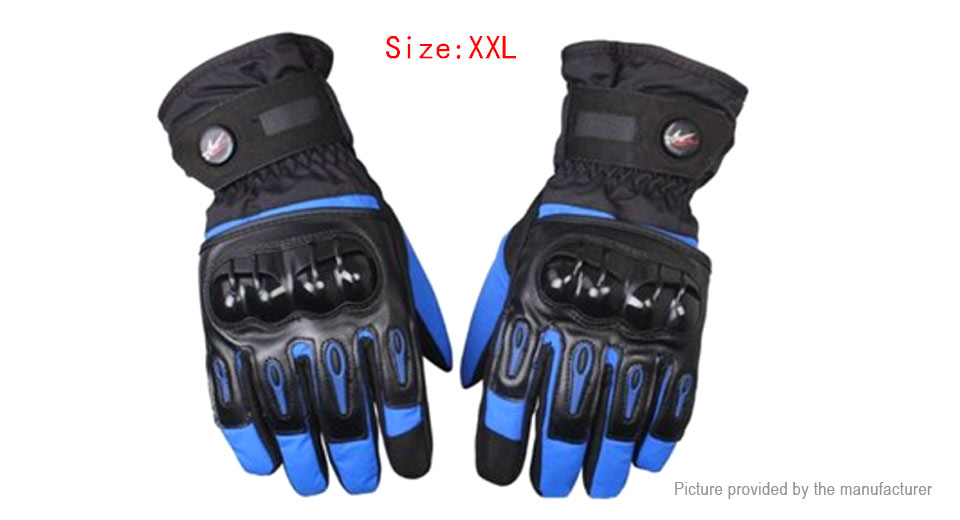 PRO-BIKER MTV-08 Motorcycle Racing Full-Finger Warm Gloves (Size 2XL/Pair)