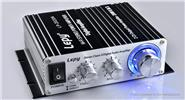 Lepy LP-2020A 12V Mini Hi-Fi Stereo Digital Audio Power Amplifier (UK) LP-2020A, Black, UK