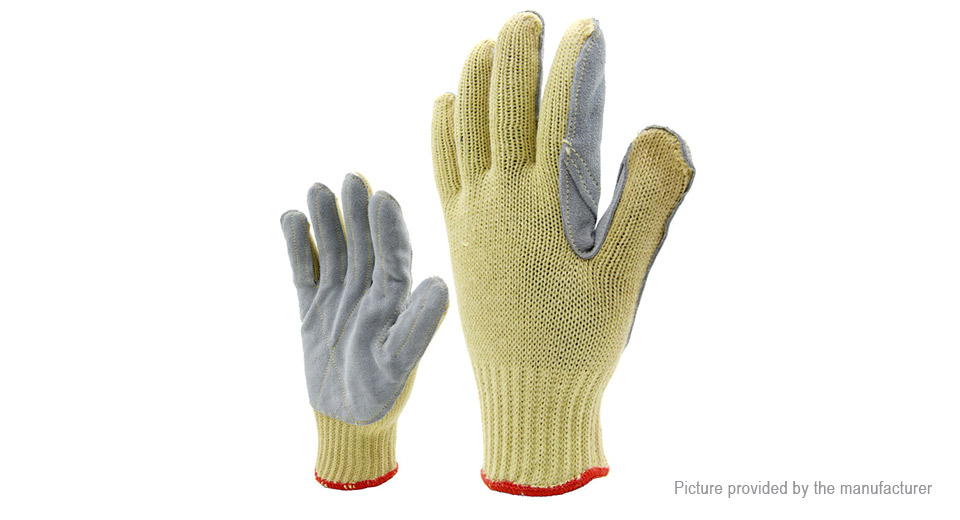 Image of Anti-cutting Labor Working Full Finger Gloves (Pair)