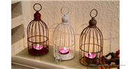 Buy Birdcage Styled Candlestick Candle Holder Home Decor, White Birdcage Style, White for $9.60 in Fasttech store