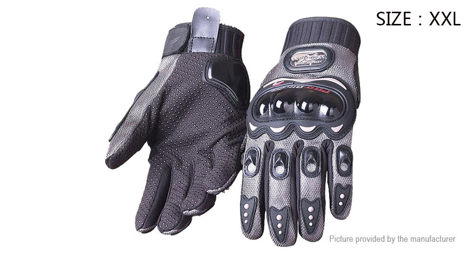 PRO-BIKER MCS-01B Full Finger Motorcycle Skiing Racing Gloves (Pair/Size 2XL)