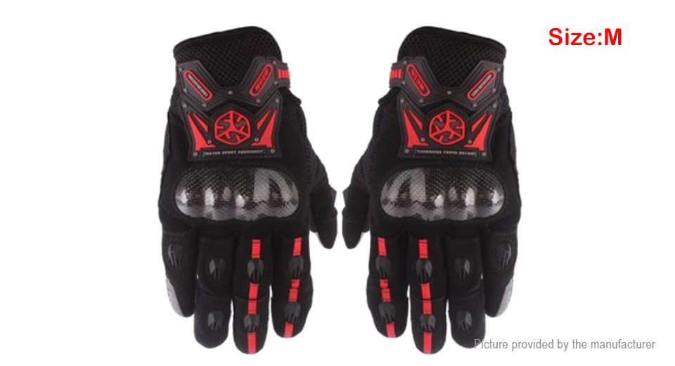 Scoyco MC20 Full Finger Motorcycle Skiing Racing Gloves (Pair/Size XL)