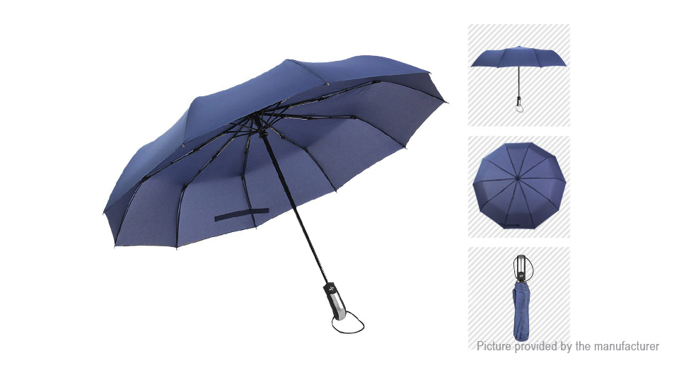 Image of Automatical Travel Windproof Folding Umbrella Super Large Rain Gear