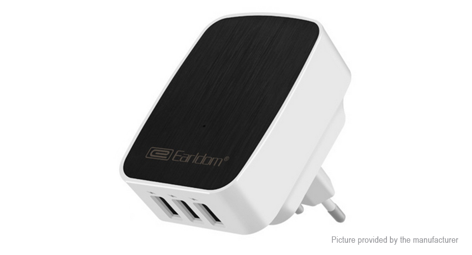 Product Image: earldom-es-188-3-port-usb-wall-charger-ac-power