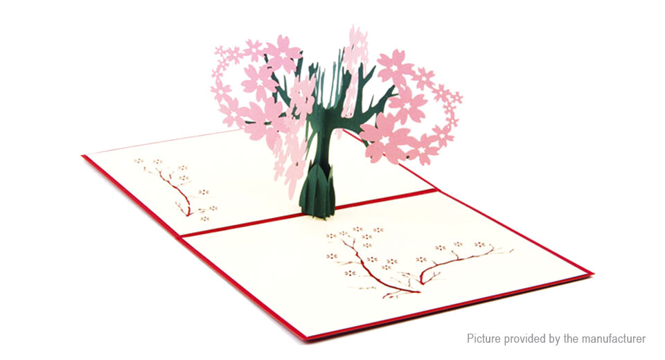 3D Pop Up Greeting Card Proposal Wedding Party Invitation Gift Card