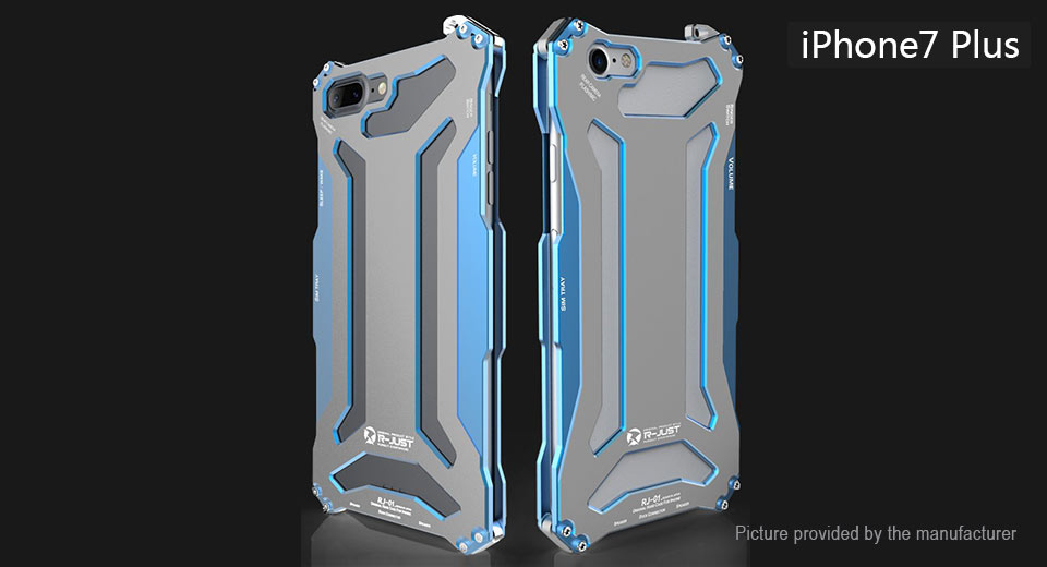 Product Image: r-just-luxury-metal-armor-protective-back-case