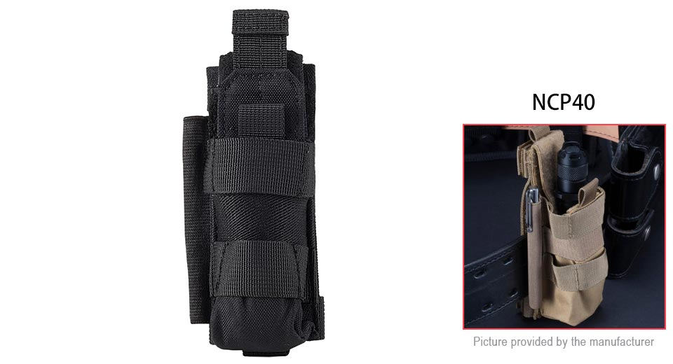 Authentic Nitecore NCP40 Multifunctional Tactical Protective Nylon Holster