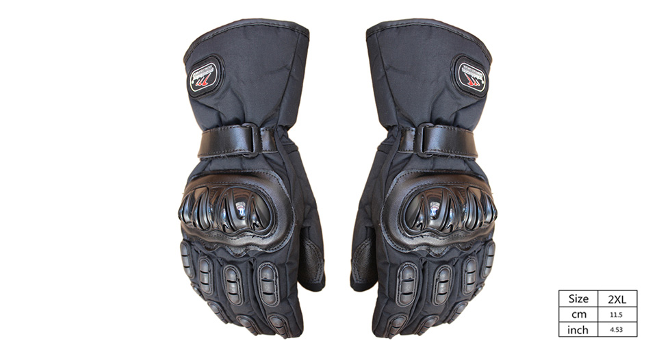 MAD-BIKE MAD-15 Motorcycle Racing Fleece Lined Full-Finger Warm Gloves (Size 2XL/Pair)