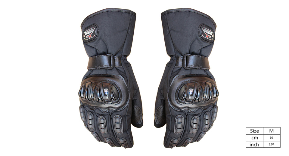 MAD-BIKE MAD-15 Motorcycle Racing Fleece Lined Full-Finger Warm Gloves (Size M/Pair)