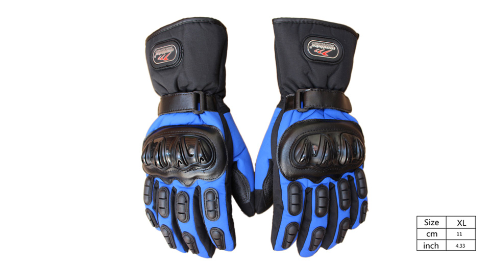 MAD-BIKE MAD-15 Motorcycle Racing Fleece Lined Full-Finger Warm Gloves (Size XL/Pair)