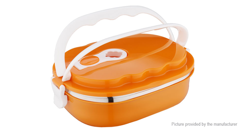 MIGAO Vacuum Seal Stacking Insulated Lunch Box Container (900ml)