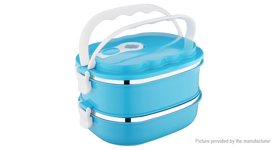 MIGAO Vacuum Seal Stacking Insulated Lunch Box Container (1800ml)