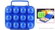 Authentic AOTU Outdoor Camping Portable Egg Storage Container Holder Case AT6360, Blue