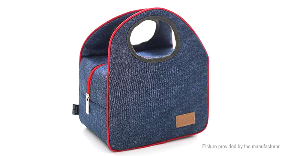 Portable Oxford Thermal Insulated Camping Picnic Food Container Lunch Bag