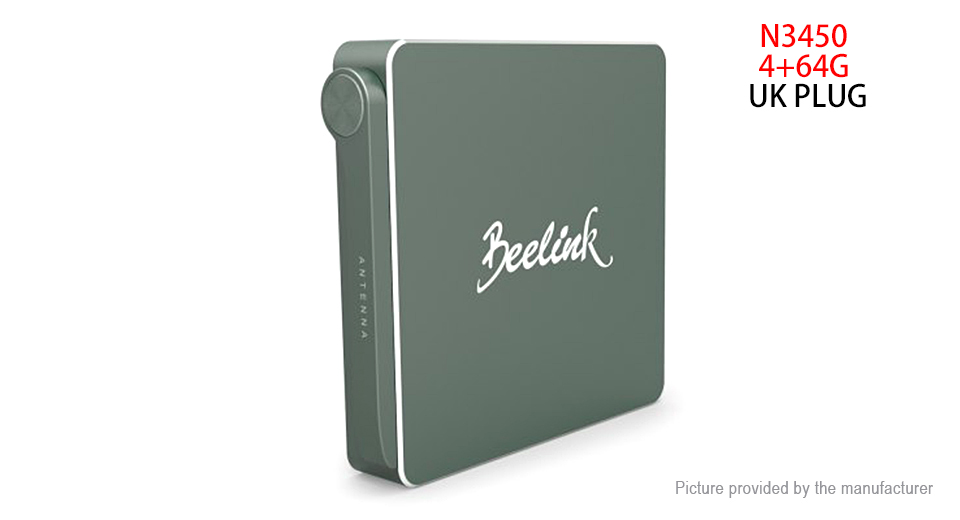 Beelink AP34 Quad-Core Mini PC (64GB/UK)