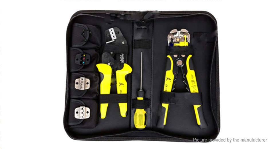 Paron JX-D4301 Multifunctional Ratchet Crimping Tool Wire Strippers Pliers Kit
