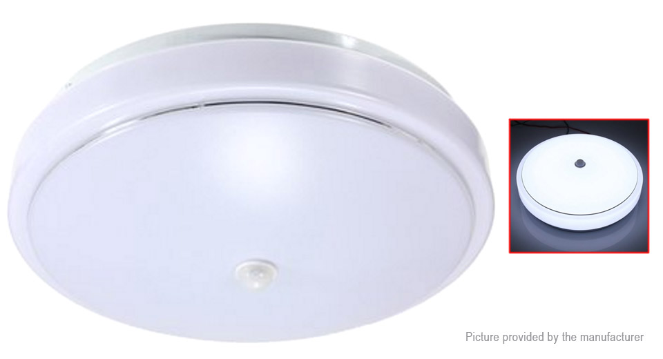 PIR Infrared Motion Sensor Flush Mounted LED Ceiling Light