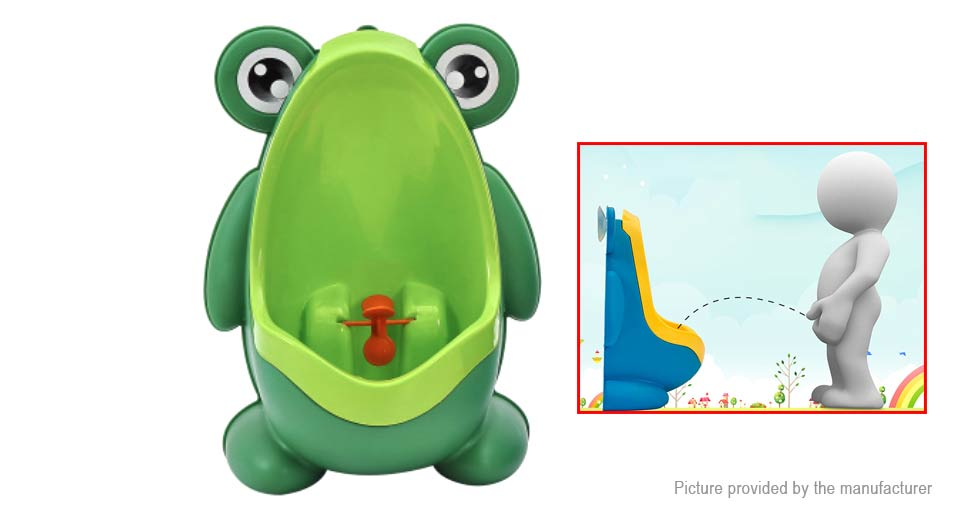 Kids Boy Children Early Education Trainning Removable Frog Potty Urinal