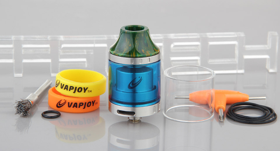 Authentic Vapjoy Jellyfish RTA Rebuildable Tank Atomizer