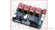 Buy 4 Axis Stepper Motor Controller Driver Board for DIY Laser Engraver, 4 Axis for $30.26 in Fasttech store