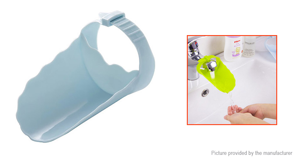 Baby Children Faucet Chute Extender Hand Washing Device