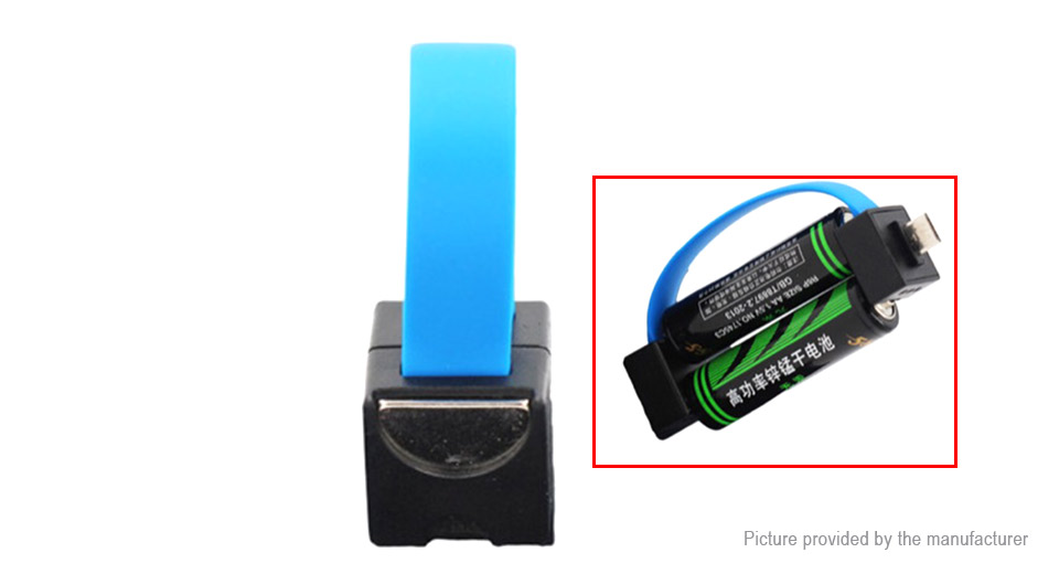 Portable AA Battery Powered Cell Phone Charger