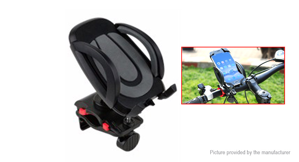 Image of CoolChange MTB Bike Bicycle Adjustable Cell Phone Mount Holder Stand