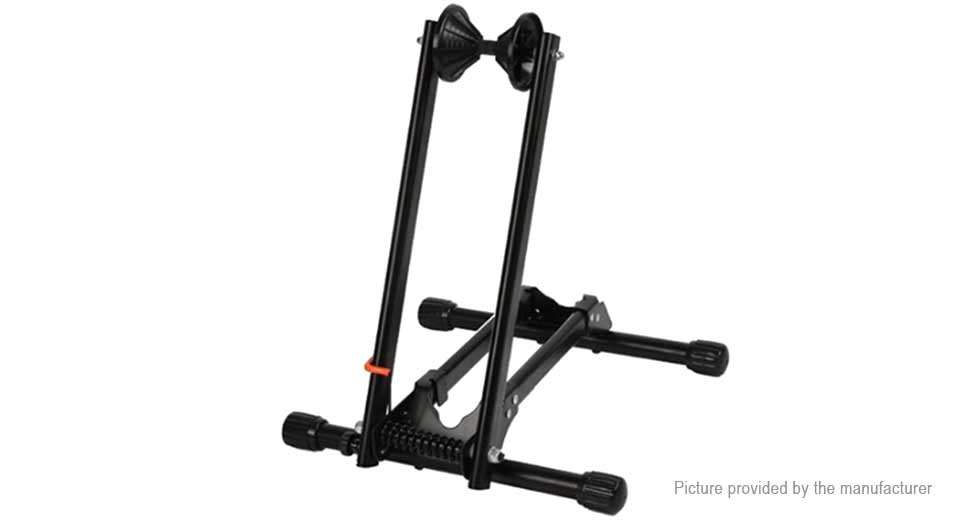 ROCKBROS Portable Double Pole Bicycle Rack Repair Support Frame Display Stand