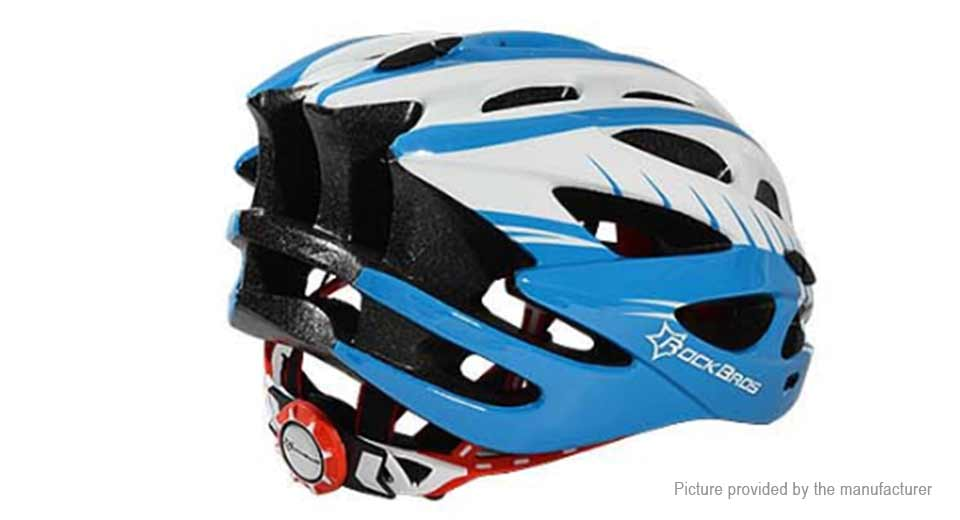 ROCKBROS Unisex Ultra Light Integrally Molded Bicycle Cycling Helmet (Free Size)