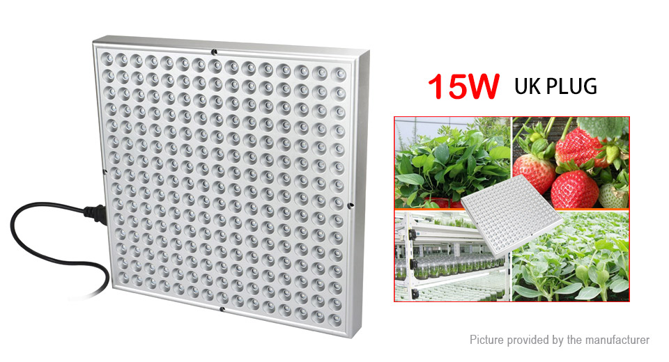 Image of 15W 225*2835 3600LM Garden Greenhouse LED Plant Growth Lamp