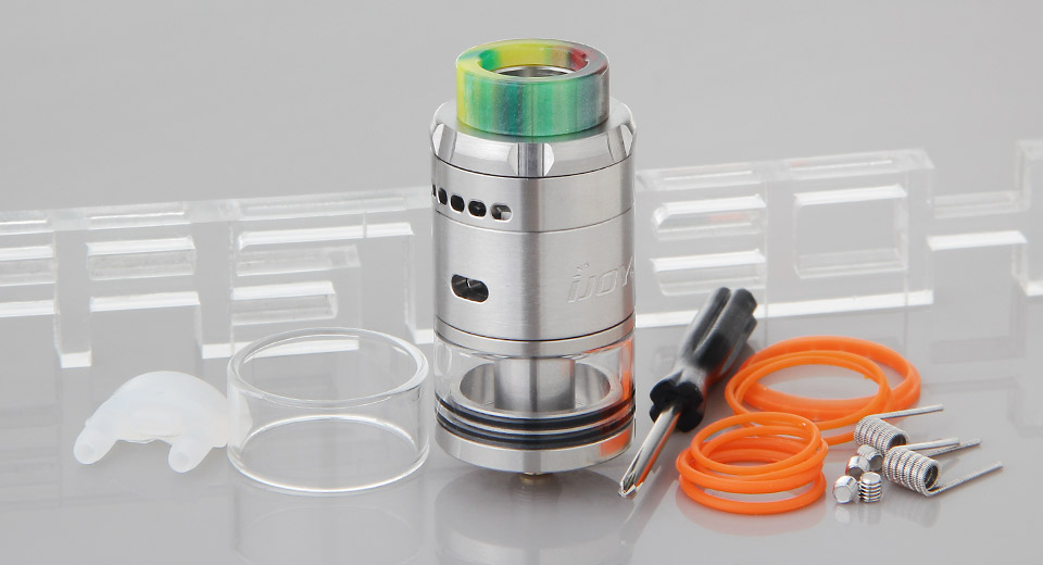 *SALE* Authentic IJOY RDTA 5 Rebuildable Dripping Tank Atomizer