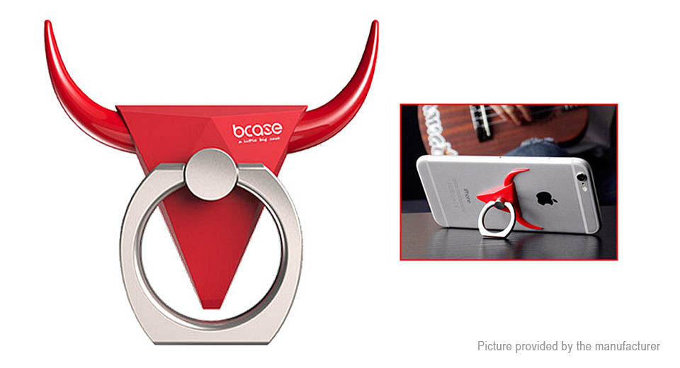 Product Image: bcase-bull-styled-finger-ring-cell-phone-holder