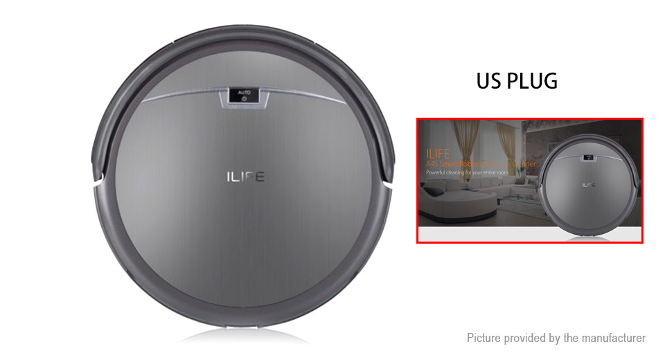Image of Authentic ILIFE A4S Smart Robotic Vacuum Cleaner (US)