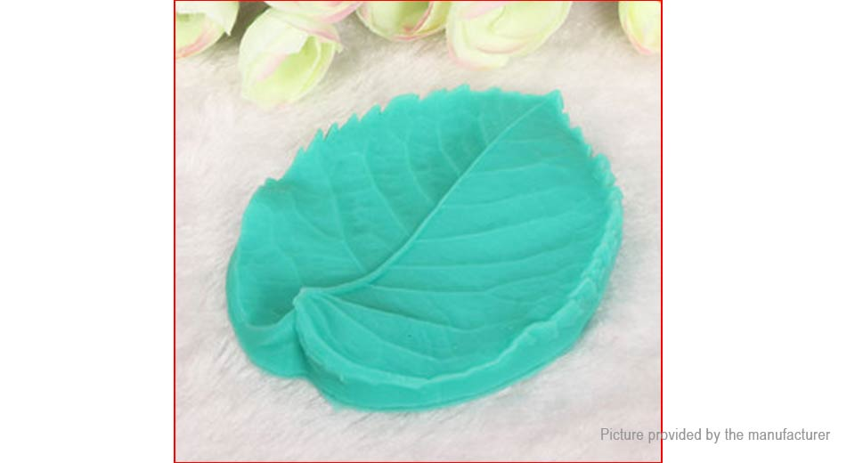 Silicone Leaf Styled Cake Mold Fondant Baking Decorating Tool