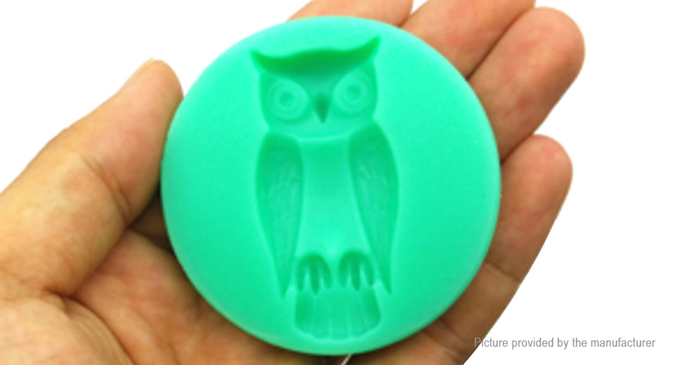 Silicone Halloween Owl Styled Cake Mold Fondant Baking Decorating Tool
