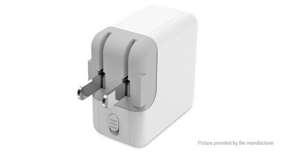 ROMOSS AC12S Dual USB Charger AC Power Adapter (US)