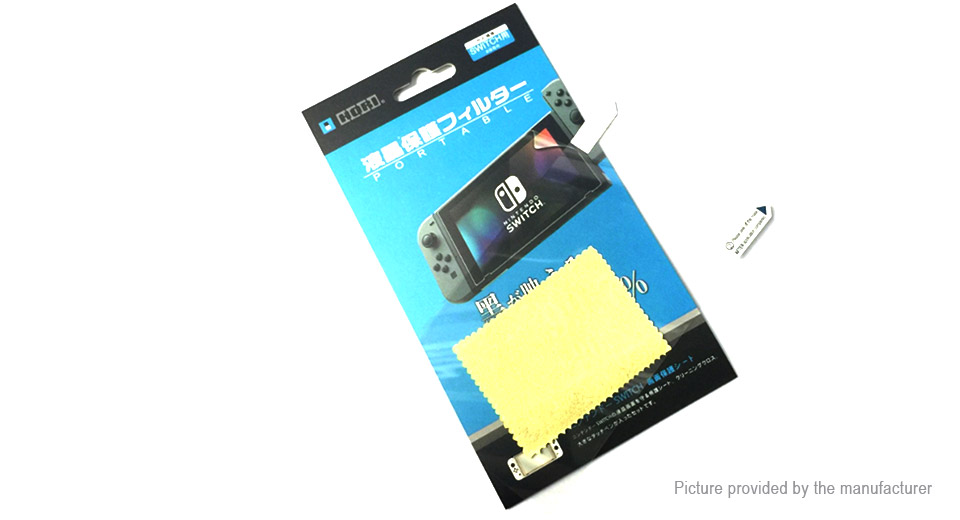 Image of 2.5D Tempered Glass Film Screen Protector for Nintendo Switch NS Game Console