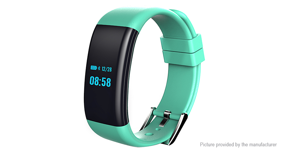 "Image of 0.66"" OLED Bluetooth V4.0 Smart Wristband Bracelet"