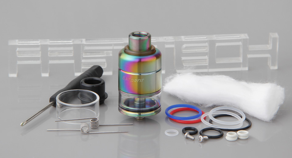 Authentic Wotofo Serpent RDTA Rebuildable Dripping Tank Atomizer