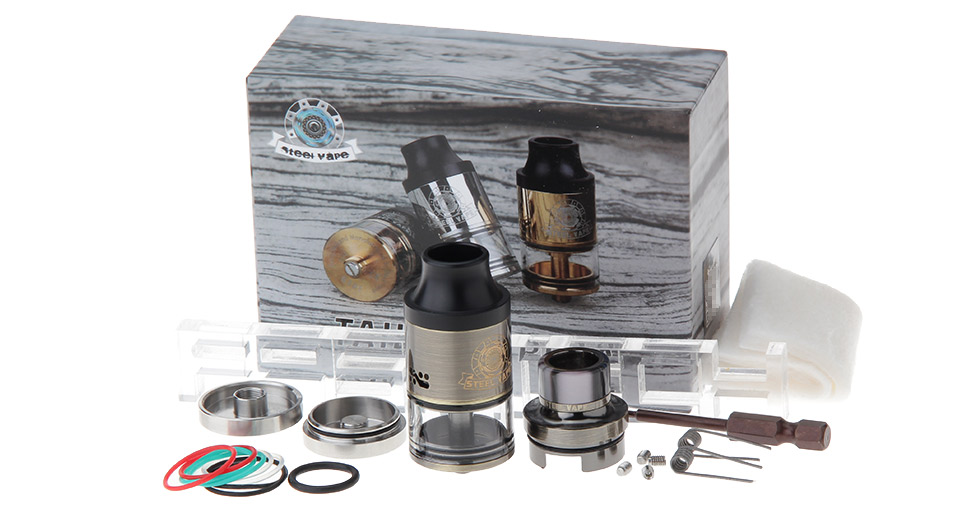 Authentic Steelvape Tailspin RDTA Rebuildable Dripping Tank Atomizer