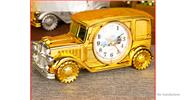 Buy Multifunctional Vintage Car Styled Alarm Clock Pencil Vase Home Decor Styled, Gold
