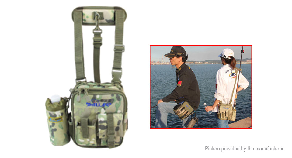 iLure Multipurpose Waist Leg Shoulder Fishing Bag