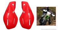 Buy Universal Motorcycle ATV Bike Handlebar Handguard Protector (Pair) Red, Pair