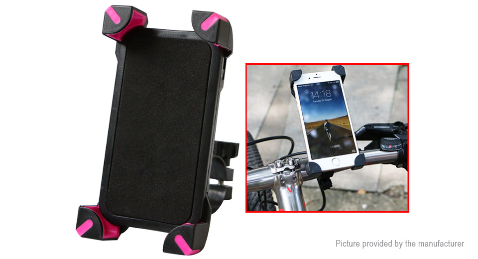 WHEEL UP Bicycle Bike Cell Phone Holder Handlebar Mount Stand